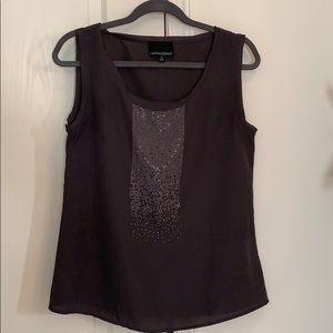 Grey Cynthia Rowley sleeveless top